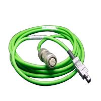 Buy cheap Green Servo Motor Power Cable Fast Processing Efficiency With Brake / Driver from wholesalers