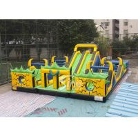 Buy cheap Adults N Kids Outdoor Giant Inflatable Playground With Big Slides For Sale from wholesalers
