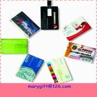 Buy cheap Credit card pendrives hotsale flash drives usb flash driver with cheap price from wholesalers