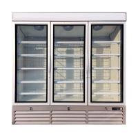 Buy cheap Commercial Display Upright Glass Door Freezer Refrigerator For Frozen Foods from wholesalers