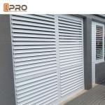 Buy cheap Sound Insulation Customized Fixed Aluminium Louver Window / Aluminium Plantation Shutters from wholesalers