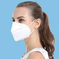 Buy cheap Ce Fda Certificated N95 Face Mask With 3 Layer High - Effective Filter from wholesalers