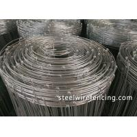 Buy cheap Heat Treated Tension Wire Deer Fence With Galvanized Knot Easy Maintenance from wholesalers