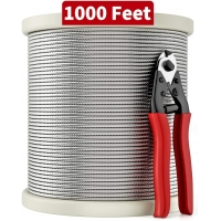 Buy cheap T316 Construction 1000FT 7x7 Stainless Steel Wire Rope from wholesalers