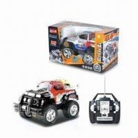 Buy cheap Four-wheel Drive RC Car with 27MHz Frequency, LED Light and Music Function from wholesalers