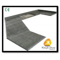 Wholesale Xiamen Kungfu Stone Ltd supply Green Granite Kitchen Countertops In High quality and cheap price from china suppliers