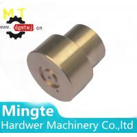 Buy cheap Customed made brass lathe turning glue dispenser robot parts / brass cnc from wholesalers