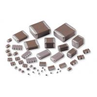 Buy cheap SMD Multilayer Ceramic Capacitor / MLCC Capacitor With Size 0402 0603 0805 1206 from wholesalers
