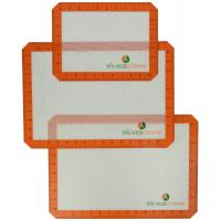 Buy cheap 3 Pack Silicone Baking Mat Professional Grade Bakeware Mats from wholesalers