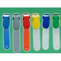 Buy cheap Plastic Badge Clip w/PVC Strap from wholesalers