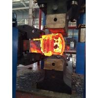 Buy cheap 4500 Ton Oil Hydraulic Open Die Forging Press Machine Four Columns Frame from wholesalers