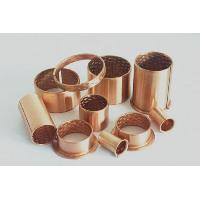 Buy cheap Straight / Flanged Wrapped Bronze Bushings CuSn8P CuSn6.5P Bronze Material from wholesalers