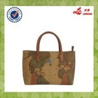 Buy cheap Fashion PU Leather Material Neweste Ladies Designer Handbag from wholesalers