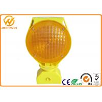 Barricade Solar Powered LED Strobe Lights for Traffic Safety Site Manufactures