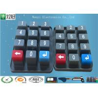 Buy cheap Eco Friendly Waterproof Custom Silicone  Rubber Keypad  With Carbon Pill from wholesalers