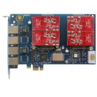 Buy cheap AEX410 with 4FXO Port Asterisk Card PCI Express Slot from wholesalers