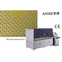 Buy cheap Shoe Upper Bag Perforated Punching Machine / Leather Processing Equipment from wholesalers