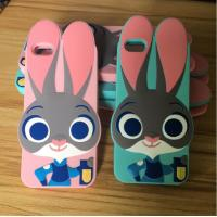 Buy cheap Personalized Zootopia 3D Rabbit Judy Silicone Cell Phone Case For Iphone 6/ Iphone 6S , Best Ladies Girls Gift from wholesalers