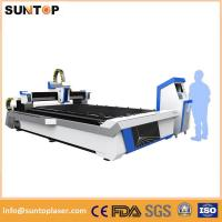 Buy cheap 2000W CNC Laser Cutting Machine Sheet Metal Copper Stainless Steel Material from wholesalers