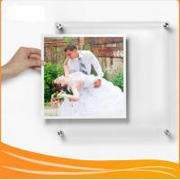 Buy cheap Manufacturer Supplies wall-mounted Crystal Acrylic picture Frame from wholesalers