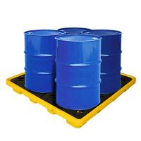 Buy cheap EPA Standard PE Drum Spill Containment Pallet, Oil Spill Tray 1300*1300*150 mm from wholesalers