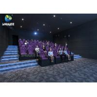 Buy cheap 3 DOF Movement Mini Film 5D Cinema Simulator Indoor Games / 5D Amusement Park from wholesalers