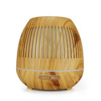 Wholesale 400ml Disinfectant Diffuser Intelligent Air Diffuser Wood Grain Remote Control 7 Colors from china suppliers