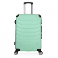 Wholesale Iron Trolley Green Hard Shell 210D Lining ABS PC Luggage from china suppliers
