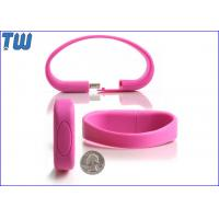 Buy cheap Wristband Soft Silicon 1GB Pen Drive Memory Fashion Wearing Digital Product from wholesalers