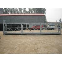 China High rise window cleaning / aerial suspended platform / construction hanging gondola / cradle on sale
