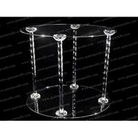 Buy cheap CD (127) acrylic tube cake stand from wholesalers