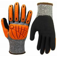 Buy cheap High Dexterity Cut Resistant Anti Impact Gloves TPR Heavy Mechanic Gloves from wholesalers