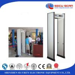 Buy cheap IP55 Waterproof Walk Through Security Metal Detectors Door 80v To 250v from wholesalers
