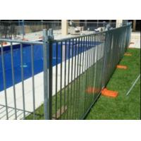 Buy cheap Hot Dipped Galvanized 2400x2100mm Temporary Fence With Concrete Block And Clamps For Australia from wholesalers