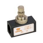Buy cheap G1/8 - G1/2 Pneumatic Flow Control Valve RE Series Air Flow Regulator Valve from wholesalers