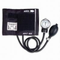 Buy cheap Aneroid Sphygmomanometer with Standard Latex Bulb and Special Vinyl Zipper Case from wholesalers
