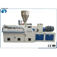 Buy cheap Double Screw PVC Plastic Pipe Manufacturing Machine , Plastic Sheet Extrusion Machine from wholesalers