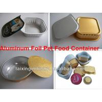 Buy cheap lacquered aluminium foil  for cat food container  8011  o from wholesalers