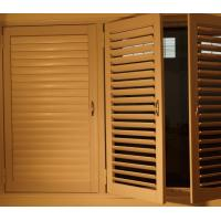Buy cheap High quality China  Aluminum Reinforced Polycore Shutters/pvc/Aluminum shutters windows from wholesalers