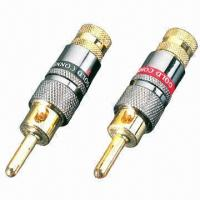 Buy cheap Banana Plug/Connector with Copper Alloy and Shining Nickel Tin Shell  from wholesalers