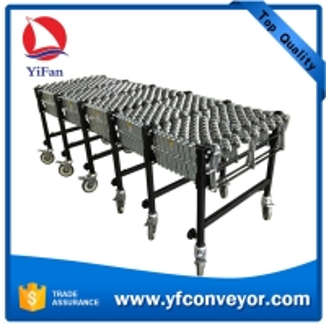 Wholesale Heavy Duty Flexible Gravity Steel Skate Wheel Conveyor from china suppliers