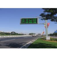 China Long Life Full Color Led Traffic Display , 16mm Led Traffic Signs 256 * 256mm on sale