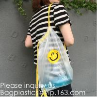 Buy cheap Drawstring Bag with Cord Lock and White Sturdy Mesh Material for Factories, College, Dorm, Storage Sturdy & Breathable from wholesalers