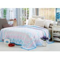 Buy cheap Comfortable Polyester Solid Flannel Blanket 3D Printed Super Soft For Bed 220*240 from wholesalers