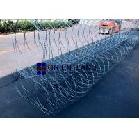 Wholesale Triple Strand Razor Wire Fence Wall Obstacles Pyramidal Type 10m Length from china suppliers