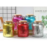 Buy cheap Wedding Decoration Empty Glass Containers Candle Holder Transparent Small Size product