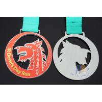 Wholesale Die Casting Sports Award Medals 80 * 3mm For Dragon Boat Race / Sailboat from china suppliers