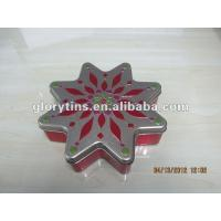 Buy cheap Octagonal tin box 178*178*45mmH for Chocolate from wholesalers