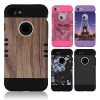 Colorful Durable Apple Cell Phone Cases For Silicone TPU / Hard Plastic Combo