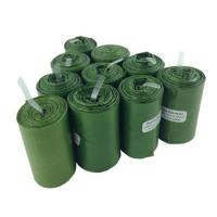 Buy cheap 100% Biodegradable Poop Bags / Compostable Pet Waste Bags Custom Service Acceptable from wholesalers